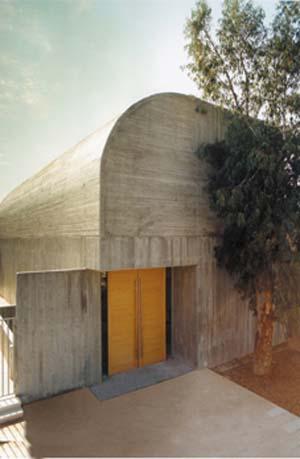 מוזיאון הרצליה מבט מבחוץ