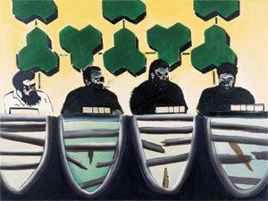 פיצוחים, ציור, 1997