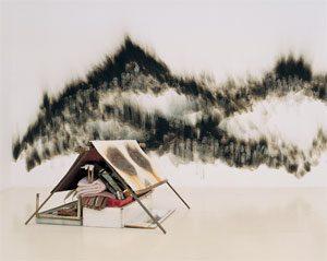 אוהל דלת ברזל (מתוך הרבית), מיצב, 1995
