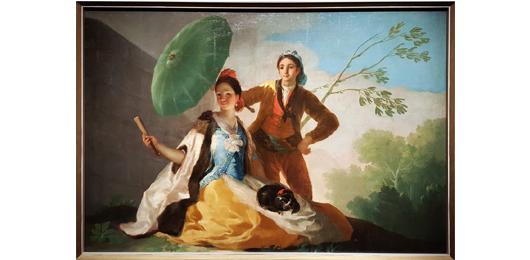 פרנסיסקו גויה, השמשייה, 1777