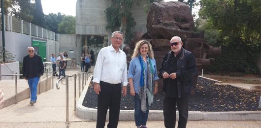 איה לוריא, ראש עירית הרצליה ויעקב דורצין