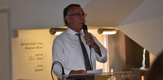 ראש עיר נואם - טרום פתיחה מאי 2017
