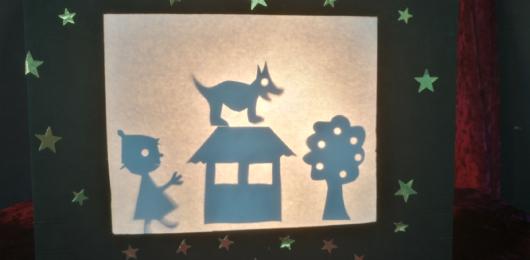 סדנא להכנת תיאטרון צלליות עם דמויות