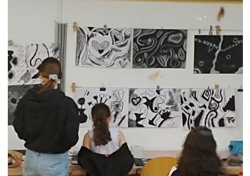 סטודיו אמנויות כיתות ה'-ו'