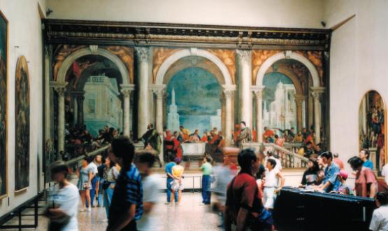 תומאס שטרות', גלריית האקדמיה, ונציה